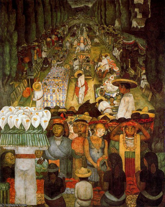 untitled (3791) by Diego Rivera (1886-1957, Mexico)