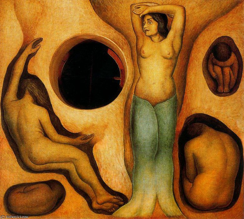 untitled (2383) by Diego Rivera (1886-1957, Mexico)