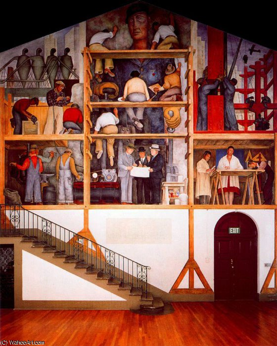 untitled (8049) by Diego Rivera (1886-1957, Mexico)