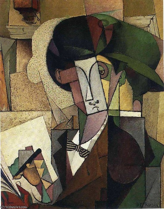 untitled (5331) by Diego Rivera (1886-1957, Mexico)