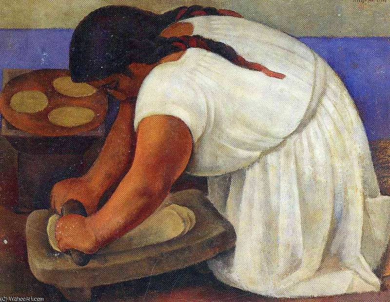 untitled (9666) by Diego Rivera (1886-1957, Mexico)