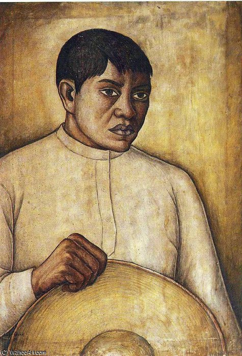 untitled (9842) by Diego Rivera (1886-1957, Mexico)