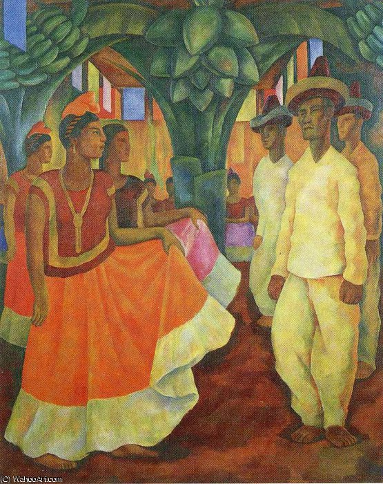 untitled (13) by Diego Rivera (1886-1957, Mexico)