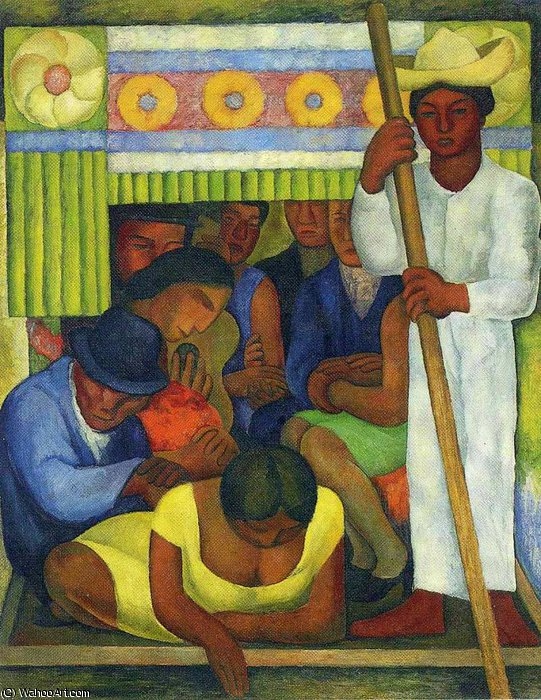 untitled (5643) by Diego Rivera (1886-1957, Mexico)
