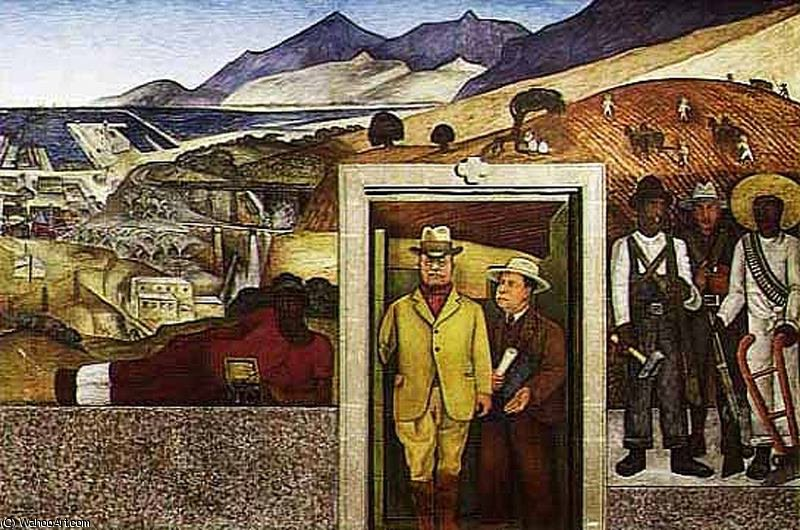 untitled (5629) by Diego Rivera (1886-1957, Mexico)