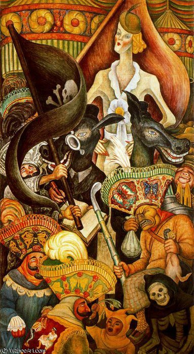 untitled (9544) by Diego Rivera (1886-1957, Mexico)
