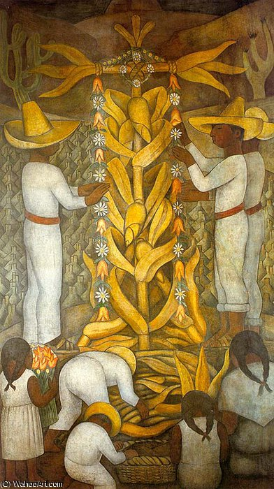 untitled (2301) by Diego Rivera (1886-1957, Mexico)