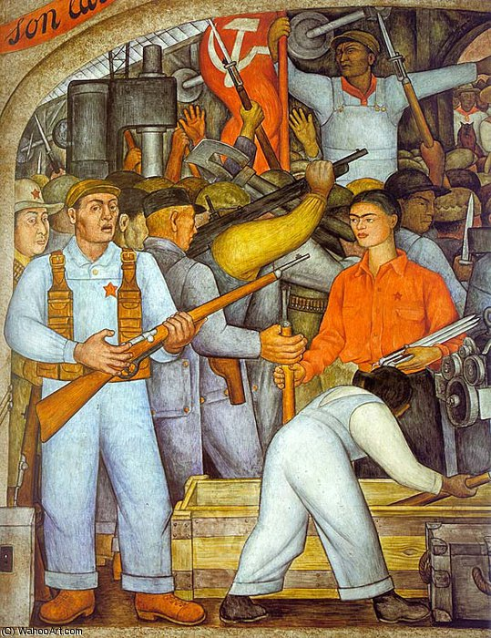 untitled (9657) by Diego Rivera (1886-1957, Mexico)
