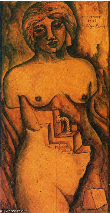 untitled (8885) by Diego Rivera (1886-1957, Mexico)