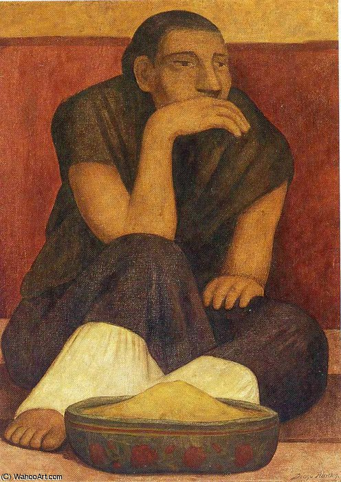 untitled (3144) by Diego Rivera (1886-1957, Mexico)
