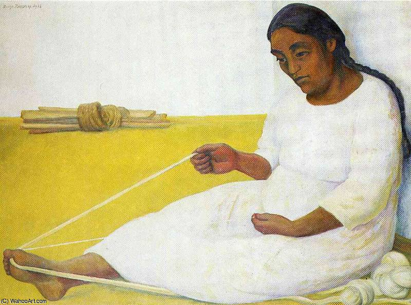 untitled (933) by Diego Rivera (1886-1957, Mexico)
