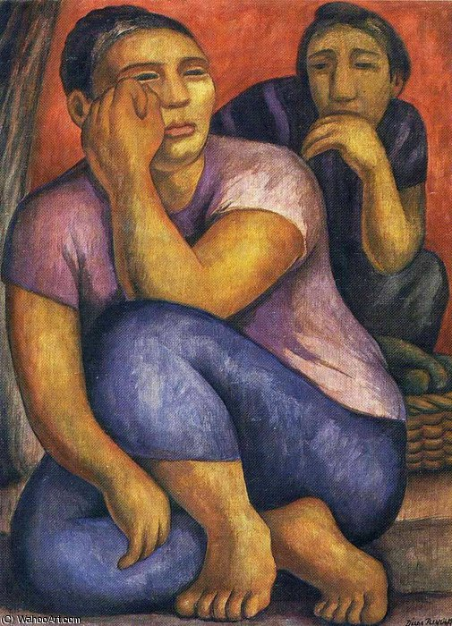 untitled (1630) by Diego Rivera (1886-1957, Mexico)