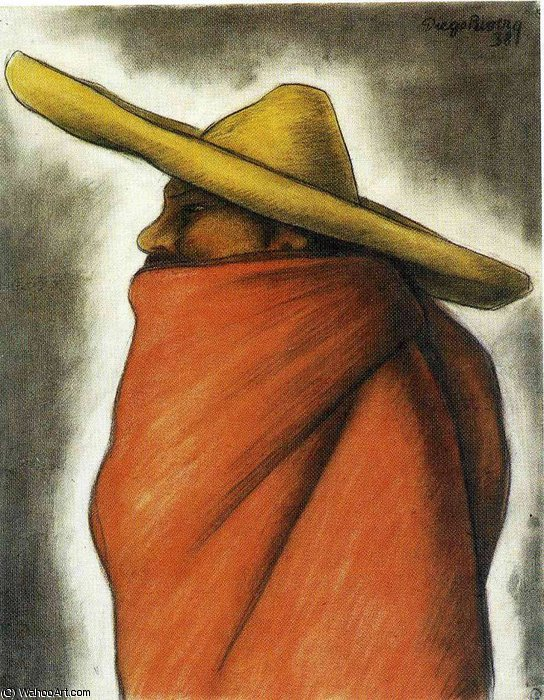 untitled (9215) by Diego Rivera (1886-1957, Mexico)