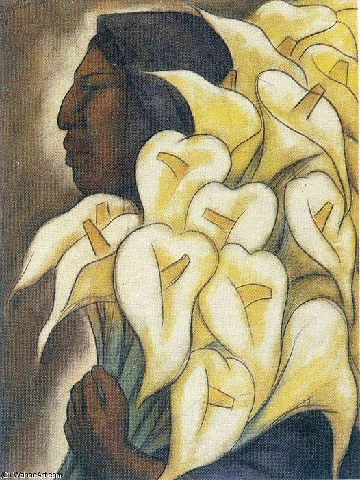 untitled (8964) by Diego Rivera (1886-1957, Mexico)
