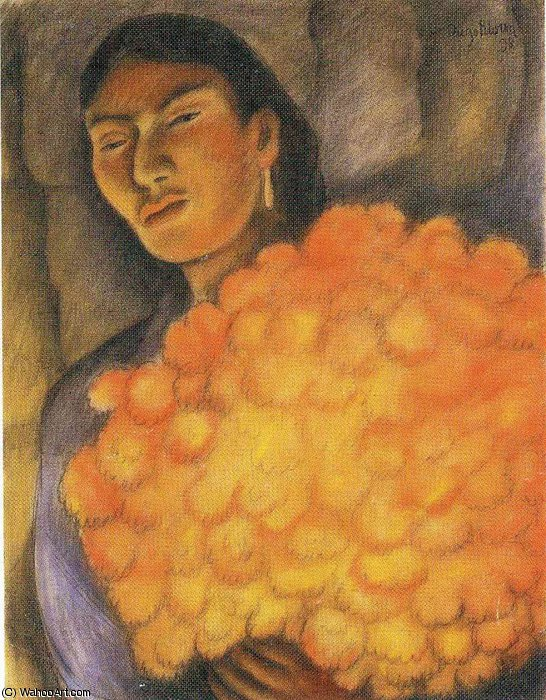 untitled (9259) by Diego Rivera (1886-1957, Mexico)