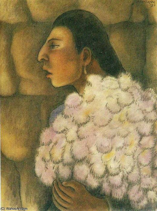 untitled (8462) by Diego Rivera (1886-1957, Mexico)