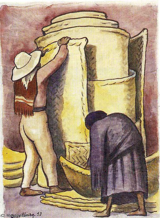 untitled (3116) by Diego Rivera (1886-1957, Mexico)