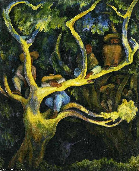 untitled (9246) by Diego Rivera (1886-1957, Mexico)