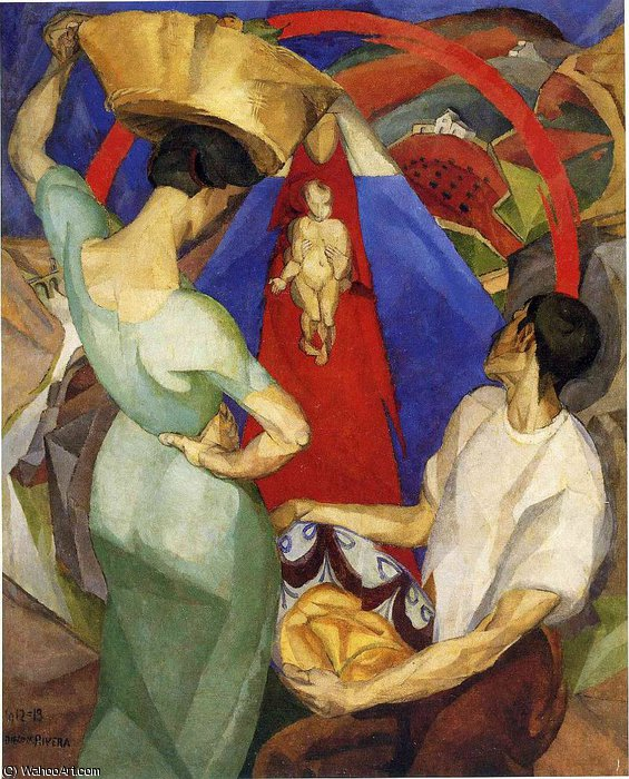 untitled (6013) by Diego Rivera (1886-1957, Mexico)