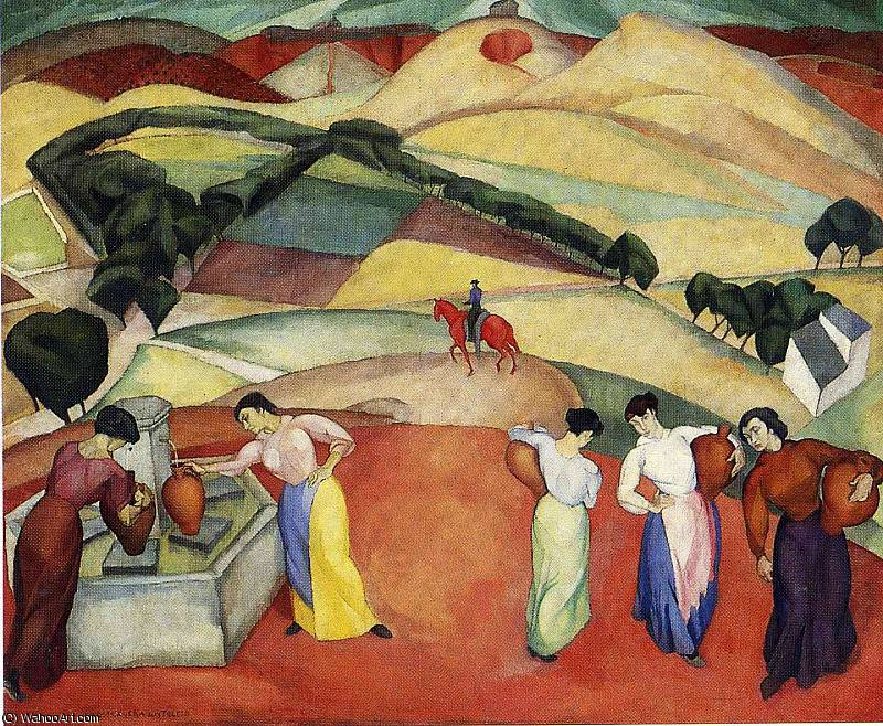 untitled (1444) by Diego Rivera (1886-1957, Mexico)