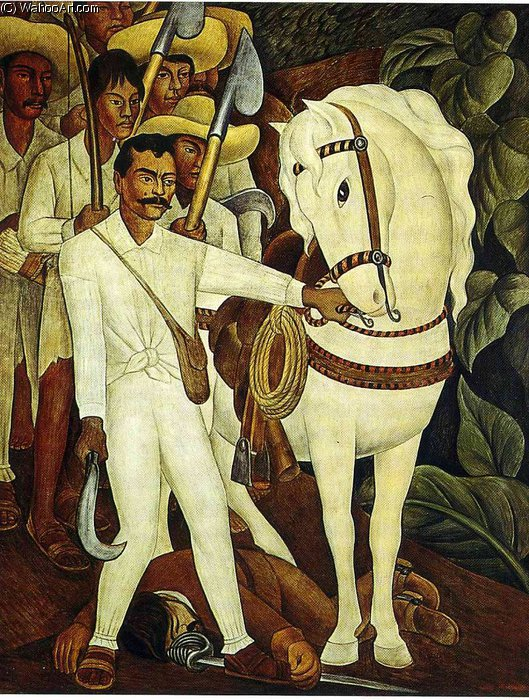 untitled (7598) by Diego Rivera (1886-1957, Mexico)