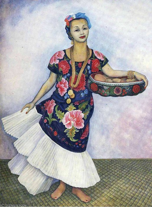 untitled (268) by Diego Rivera (1886-1957, Mexico)
