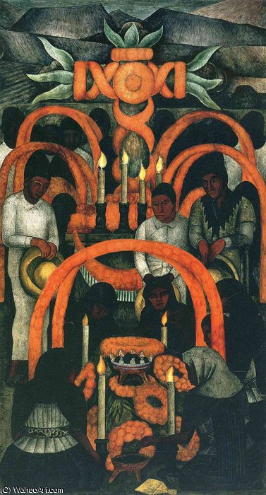 untitled (7752) by Diego Rivera (1886-1957, Mexico)