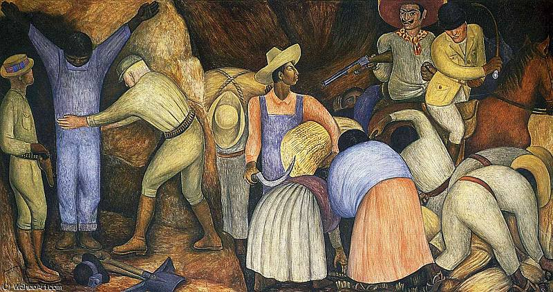 untitled (3830) by Diego Rivera (1886-1957, Mexico)