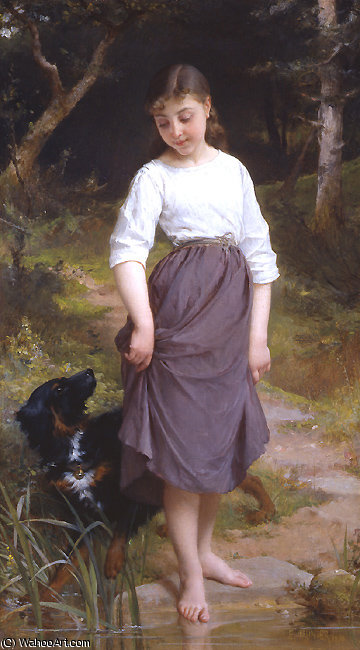 untitled (2379) by Emile Munier (1840-1895, France)
