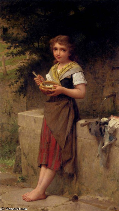 untitled (3925) by Emile Munier (1840-1895, France) | Art Reproduction | ArtsDot.com