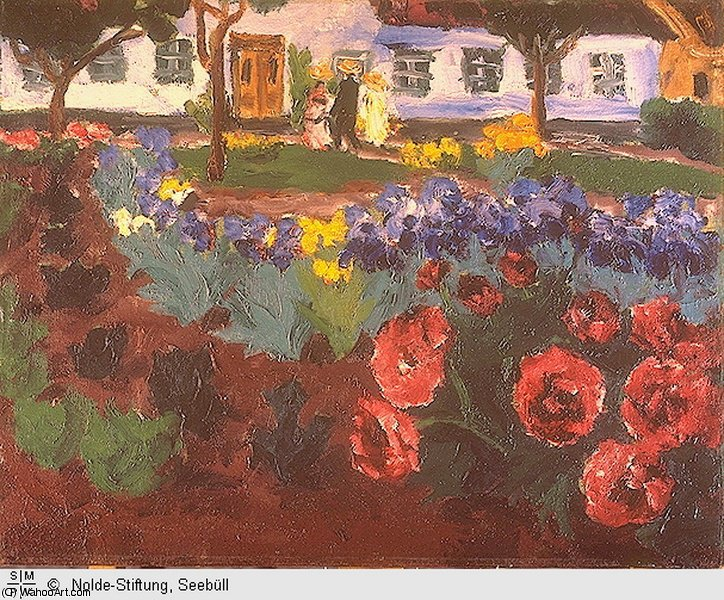 untitled (8822) by Emile Nolde (1867-1956, Germany) | Oil Painting | ArtsDot.com
