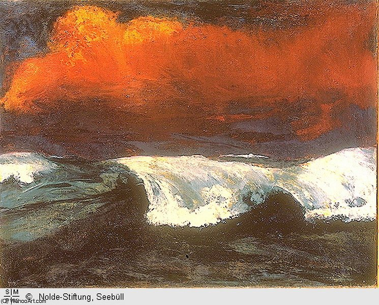 untitled (3444) by Emile Nolde (1867-1956, Germany)