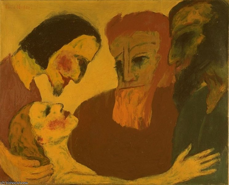 untitled (3868) by Emile Nolde (1867-1956, Germany) | Museum Quality Reproductions | ArtsDot.com