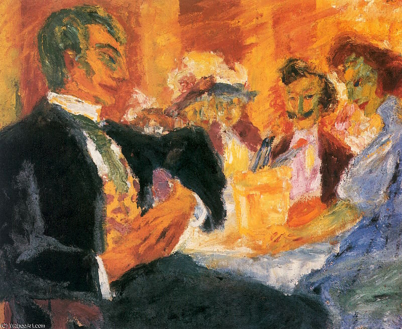 untitled (8893) by Emile Nolde (1867-1956, Germany)