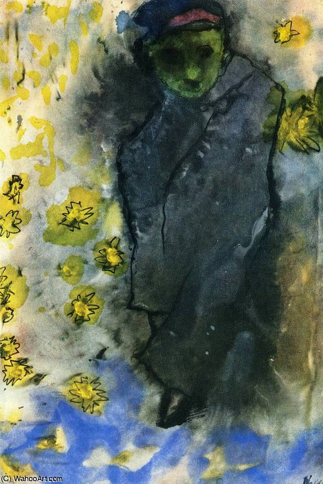 untitled (4080) by Emile Nolde (1867-1956, Germany)