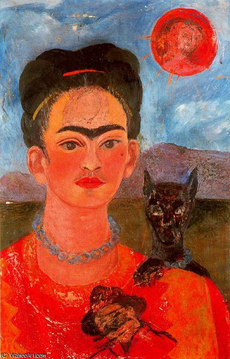 untitled (2539) by Frida Kahlo (1907-1954, Mexico)