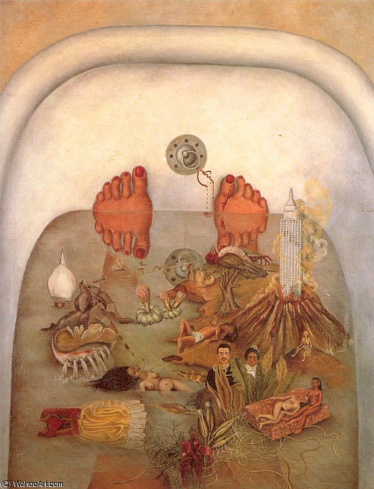 untitled (2947) by Frida Kahlo (1907-1954, Mexico) | Museum Quality Reproductions | ArtsDot.com