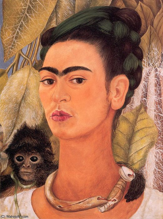 untitled (6361) by Frida Kahlo (1907-1954, Mexico)