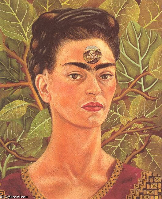 untitled (7072) by Frida Kahlo (1907-1954, Mexico) | Oil Painting | ArtsDot.com