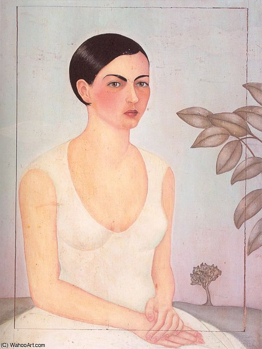 untitled (6231) by Frida Kahlo (1907-1954, Mexico)