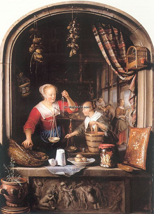 untitled (8586) by Gerrit Dou