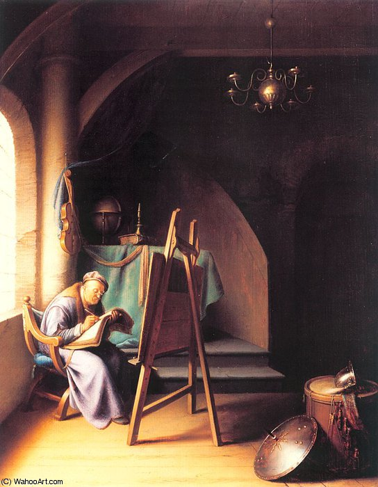 untitled (2605) by Gerrit Dou (1613-1675, Netherlands)