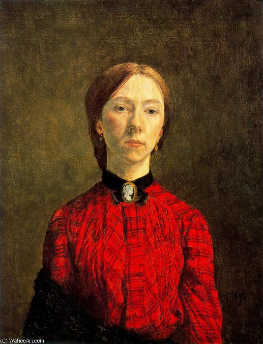 untitled (8927) by Gwen John (1876-1939, United States)