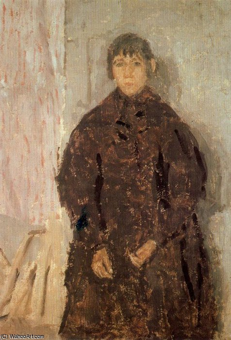 untitled (3290) by Gwen John (1876-1939, United States)