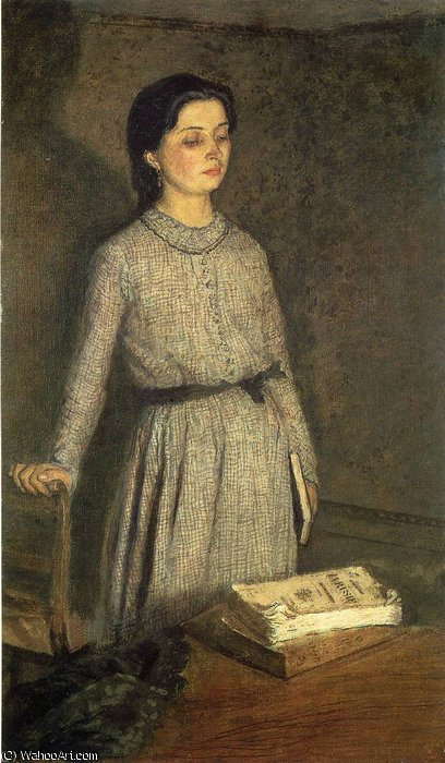 untitled (8594) by Gwen John (1876-1939, United States)