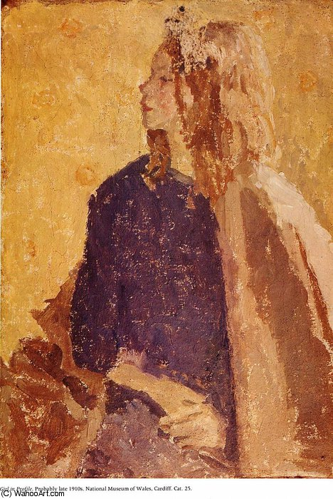 untitled (2601) by Gwen John (1876-1939, United States)
