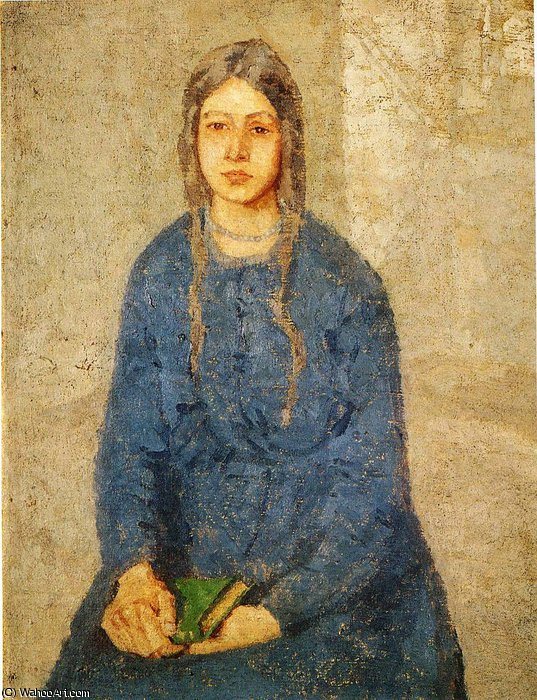 untitled (359) by Gwen John (1876-1939, United States)