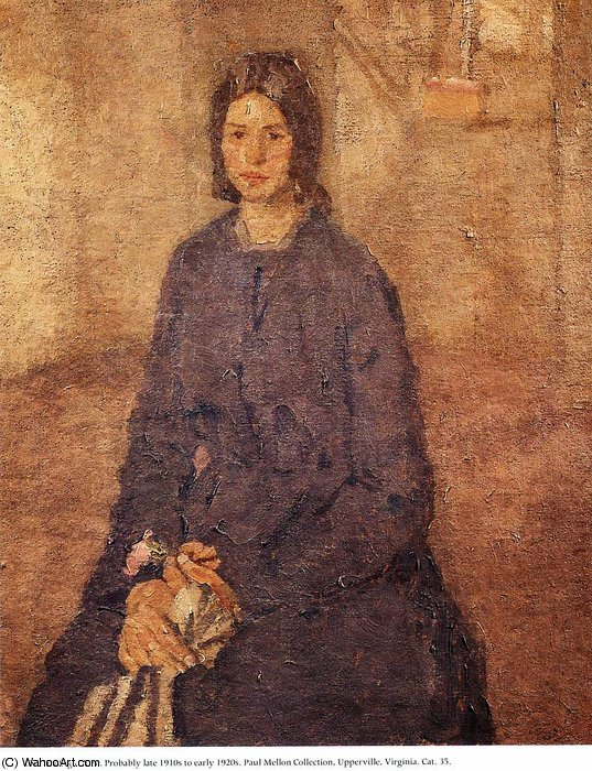 untitled (7576) by Gwen John (1876-1939, United States)