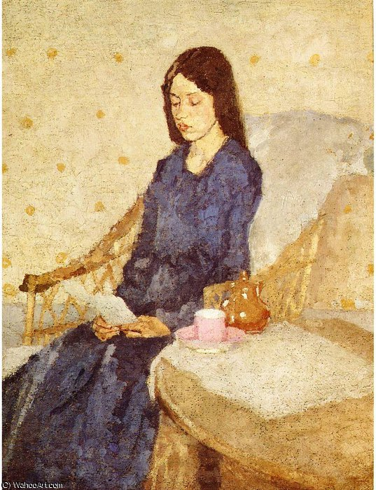 untitled (4505) by Gwen John (1876-1939, United States)