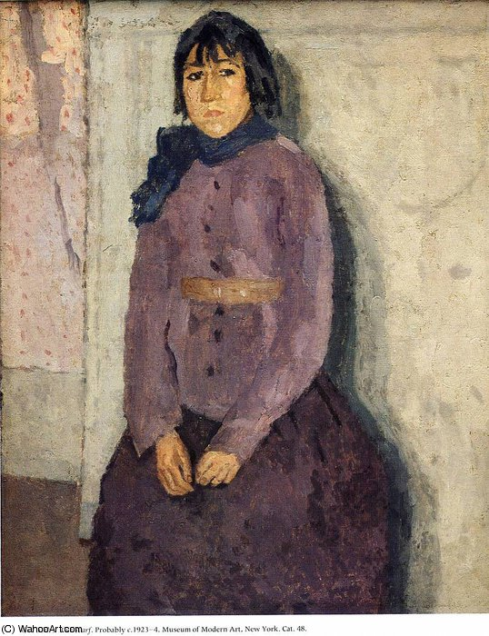 untitled (6998) by Gwen John (1876-1939, United States)